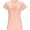 Norrøna W's /29 Cotton Logo T-Shirt World Peach